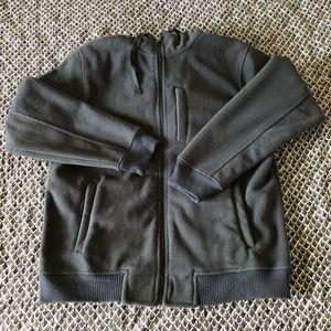 NWT Men's Gap Fleece Zip Up Sweater Zip Up W/Hood